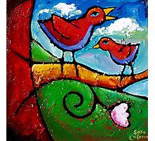 THE LOVEBIRDS SONG Photographic Print