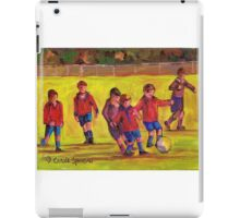 SOCCER GAME  iPad Case/Skin