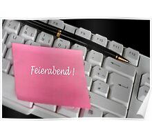 Feierabend {home_time} Poster