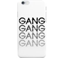 Chief Keef GANG GANG GANG iPhone Case/Skin