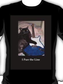 Musical Guitar Cat T-Shirt