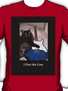 Musical Guitar Cat T-Shirt