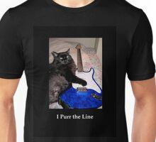 Musical Guitar Cat Unisex T-Shirt