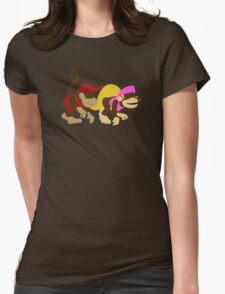 DK2: Diddy and Dixie Womens Fitted T-Shirt