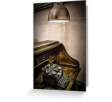 Writing Desk Greeting Card