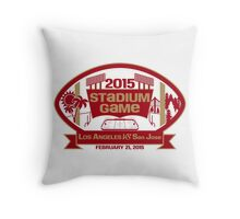 2015 SF Stadium Game Throw Pillow