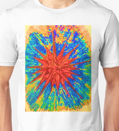 Star Power Blasts The Galaxy Unisex T-Shirt