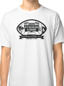 2015 LA Stadium Game - Black Text Classic T-Shirt