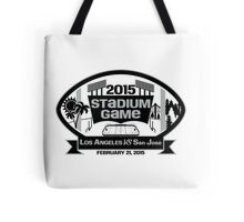 2015 LA Stadium Game - Black Text Tote Bag