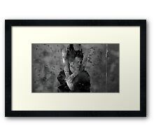 The Weeknd Painted Framed Print