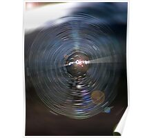 Spider Web Abstract Poster
