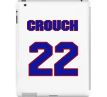 National baseball player Bill Crouch jersey 22 iPad Case/Skin