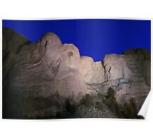 Mount Rushmore National Memorial ll Poster