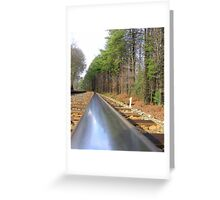 Lonely Path Greeting Card