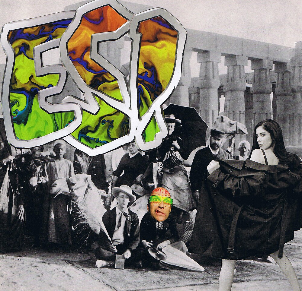 """ESP"".....featuring Sarah Silverman by atomikboy"