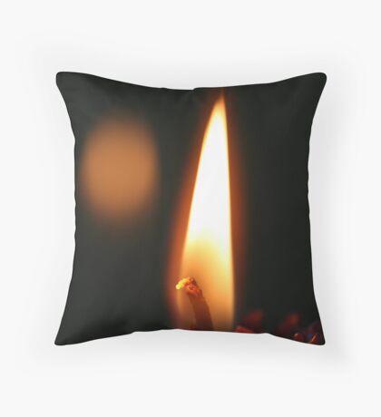 Light Energy Throw Pillow
