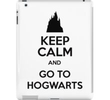 Keep Calm And Go To Hogwarts iPad Case/Skin