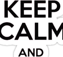Keep Calm And Go To Hogwarts Sticker