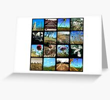 Through the Viewfinder Polyptych Greeting Card