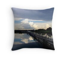 Something In the Air Tonight Throw Pillow