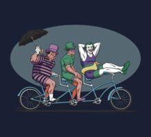 Bat Baddies Biking By the Beach T-Shirt