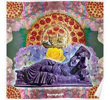 Pizza Sunrise Venus Poster