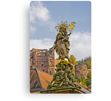 Virgin Mary Canvas Print