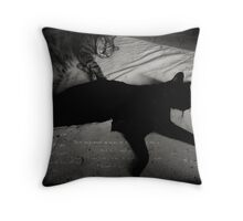 _ the good life _ Throw Pillow