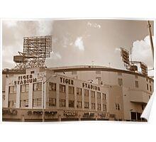 Tiger Stadium Poster