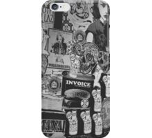 Seattle Flyer Graffiti iPhone Case/Skin