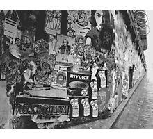 Seattle Flyer Graffiti Photographic Print