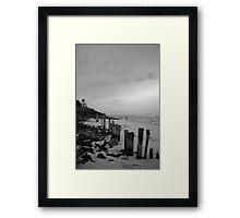 lennox head seven mile beach_2 Framed Print