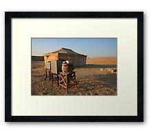 Bedouin Life Framed Print