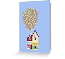 Up Greeting Card