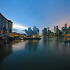 Marina Bay & The Sands Hotel. Singapore. by Ralph de Zilva