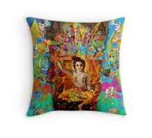 KRISHNA Throw Pillow