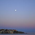 Moonlight over Bondi, Australia by Samantha  Goode