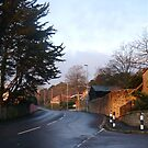 Winding Roads Around Lyme Dorset UK by lynn carter