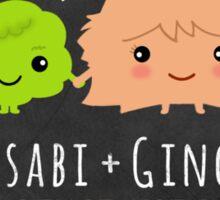 Wasabi and Ginger Together Forever Sticker Sticker