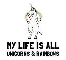 Unicorns And Rainbows by AmazingMart