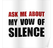 Vow Of Silence Poster