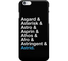 That's A Beautiful Name. iPhone Case/Skin
