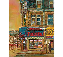 CANADIAN CITY SCENES MONTREAL ART BY CANADIAN ARTIST CAROLE SPANDAU Photographic Print