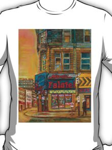 CANADIAN CITY SCENES MONTREAL ART BY CANADIAN ARTIST CAROLE SPANDAU T-Shirt
