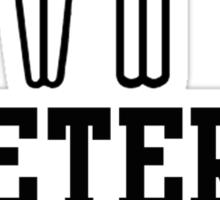 Hetero pride Sticker