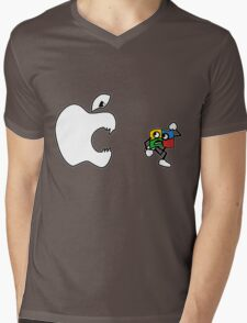 Mac Attacks Mens V-Neck T-Shirt
