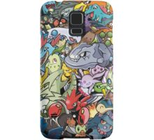 Gen II - Pokemaniacal Colour Samsung Galaxy Case/Skin