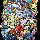 Gen II - Pokemaniacal Colour by Alex Clark
