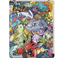 Gen II - Pokemaniacal Colour iPad Case/Skin