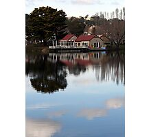 Boathouse Photographic Print